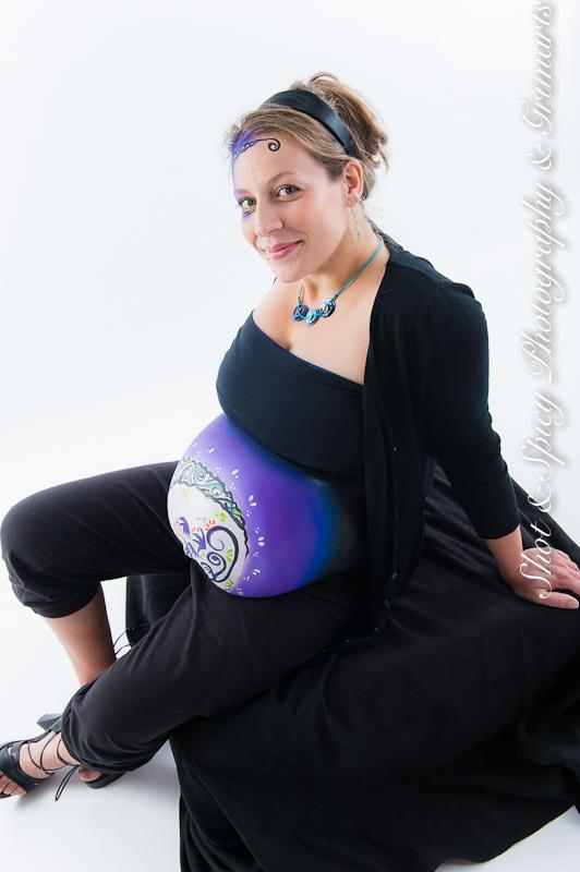 bellypainting à Namur photographe